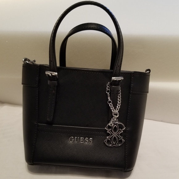 Guess Handbags - Guess Delaney Petite Tote with crossbody strap 0cb52fce90d3a